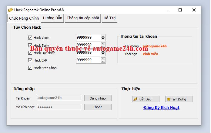 Hack Ragnarok Online miễn phí Ragnar10
