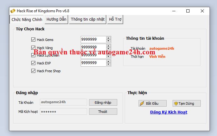 Hack Rise of Kingdoms 2021 Riseof10