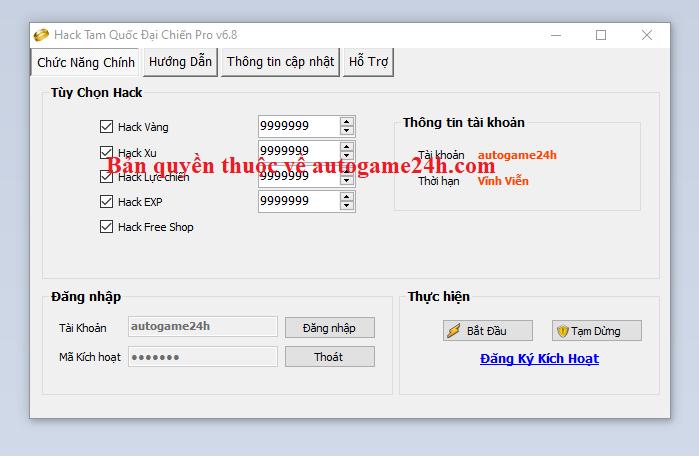 Hack Tam Quốc Đại Chiến miễn phí Tamquo11