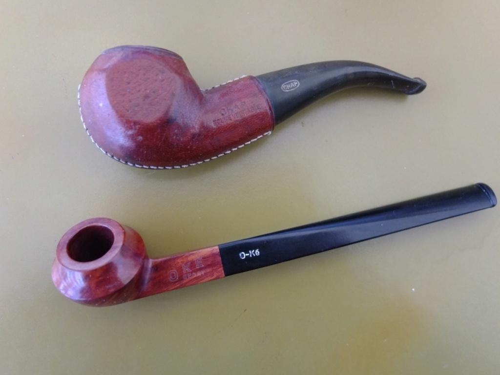 (Lot VENDU) : 2 pipes (lot ou unitaire) Optimi20