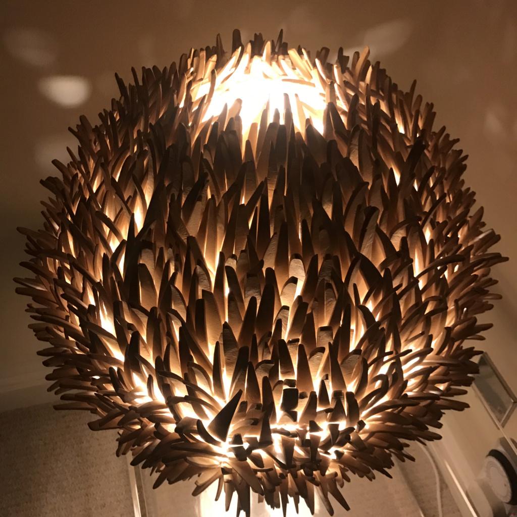 "Help with ID of my ""hedgehog"" lamp Img_3911"
