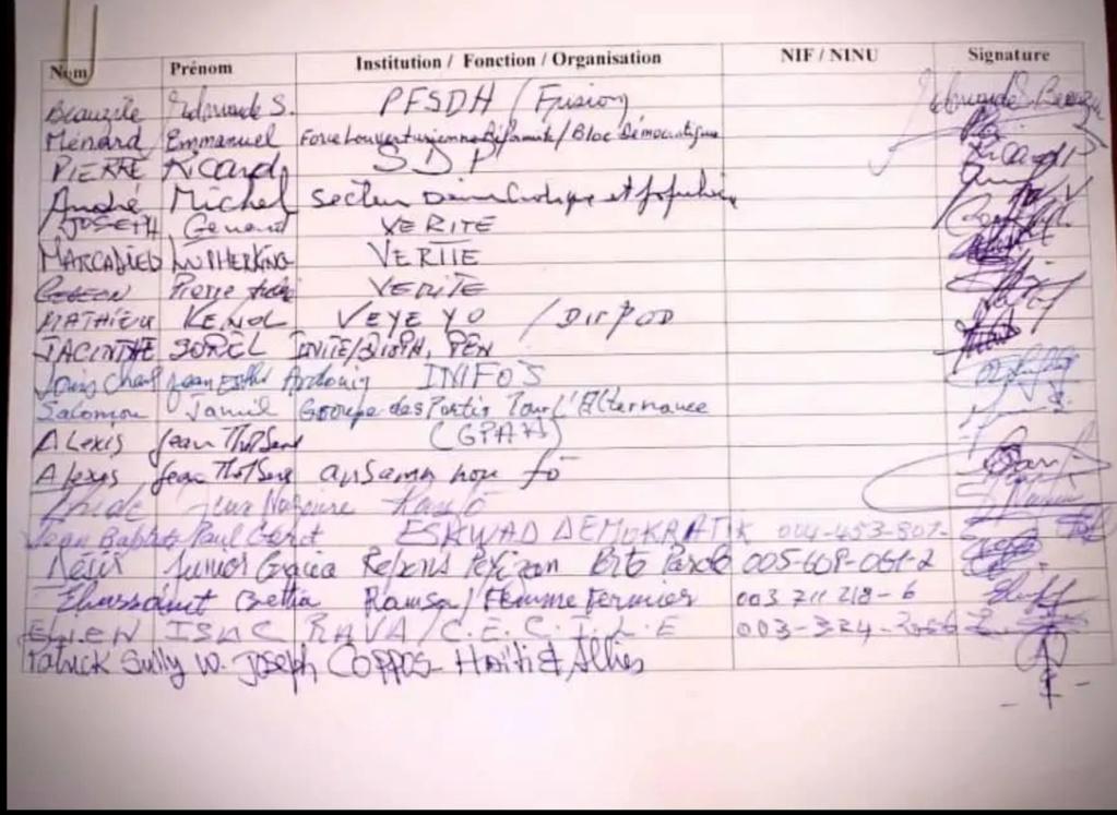 Haiti-accord  interhaitien: Reginald Boulos a dit ''OUI'' à Ariel Henry Dc7d1210