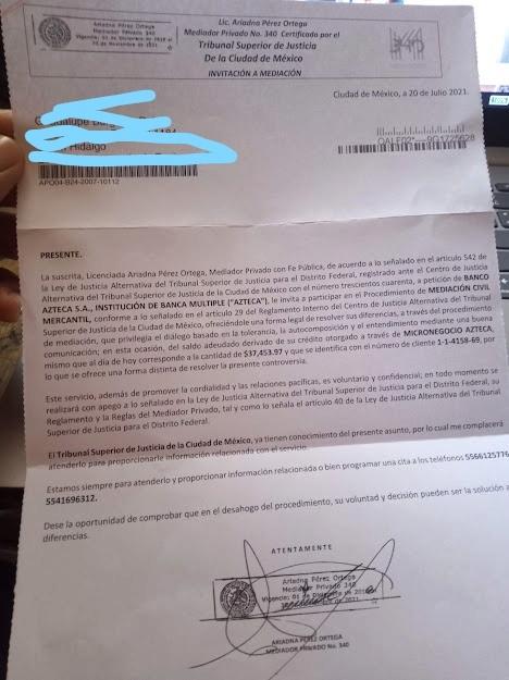 Invitación a mediación Img_2010