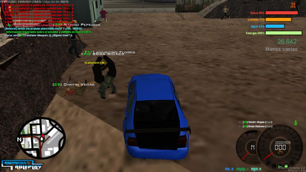 Reporte Brian Rolmes (DM CAR) Mta-sc10