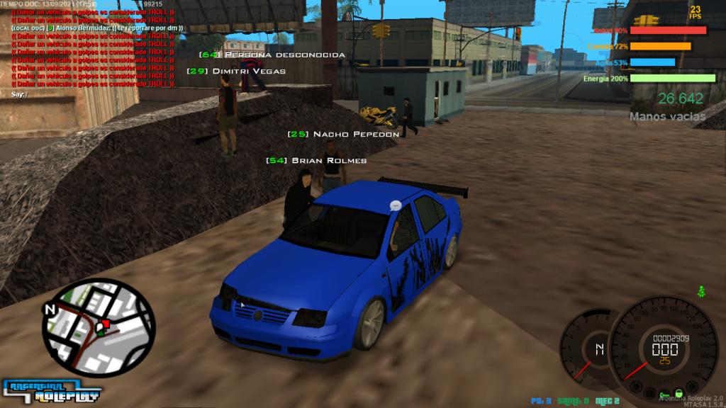 Reporte Brian Rolmes (DM CAR) Mta-sc11