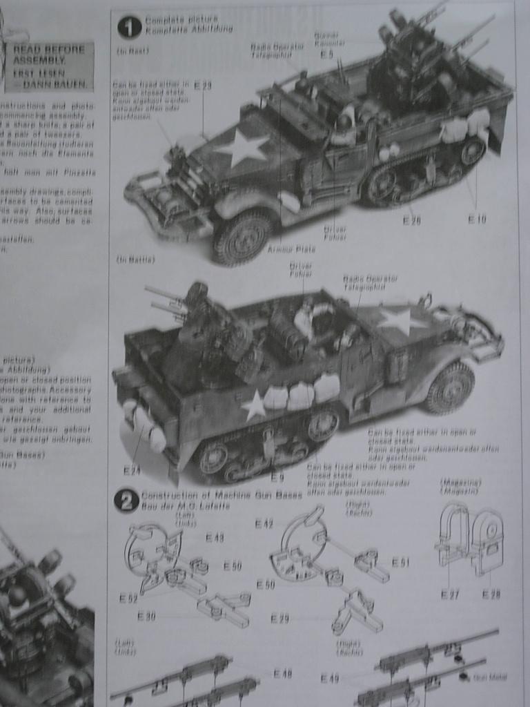 Half track M16 Tamiya 1/35 Dscn0428