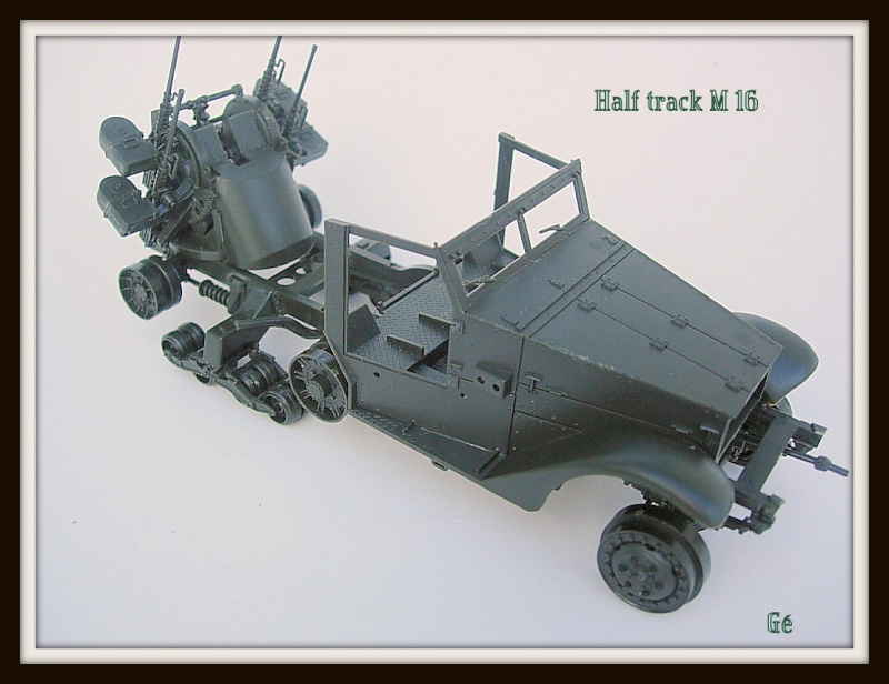 Half track M16 Tamiya 1/35 Dscn0433