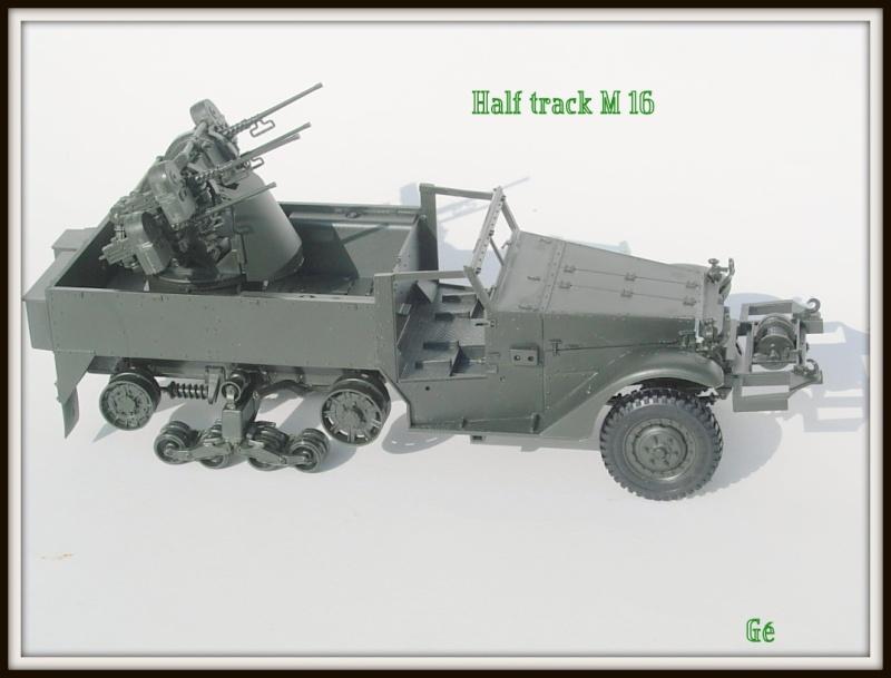 Half track M16 Tamiya 1/35 Dscn0434