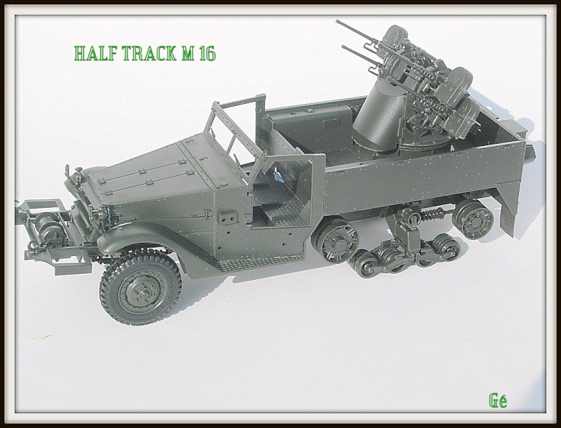 Half track M16 Tamiya 1/35 Dscn0435