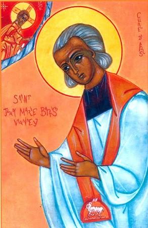 Belle fête du saint Curé d'Ars à tous! Saint_10