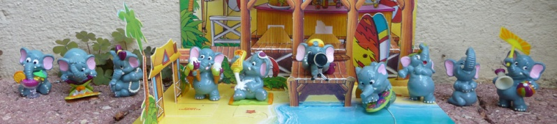 [KINDER] les petits hippo de Kinder !! Alapha10