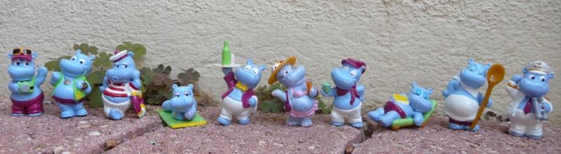 [KINDER] les petits hippo de Kinder !! Hippo210