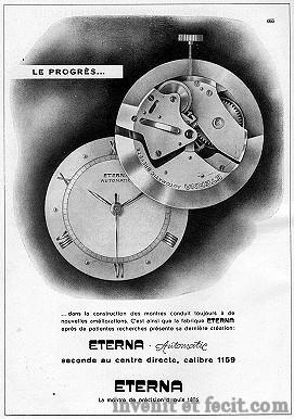 Eterna - News : Eterna Heritage Chronographe Pulsomètre Eterna10