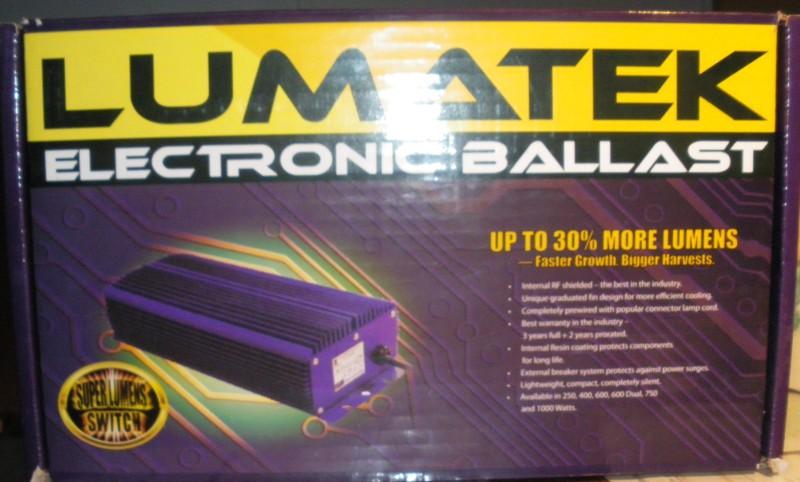 Vends 1 Ballasts électroniques LUMATEC [terminé] Ballas10