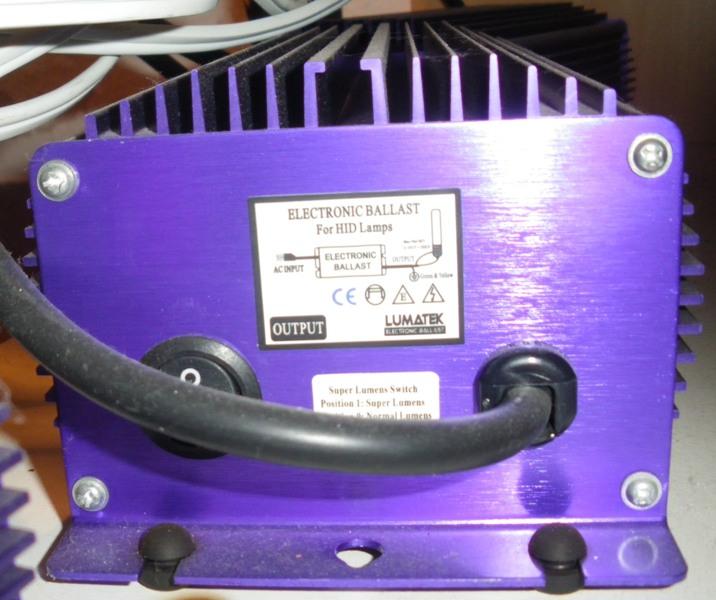 Vends 1 Ballasts électroniques LUMATEC [terminé] Ballas11