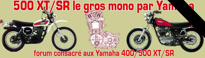 XT500 ou SR500 - le gros mono par Yamaha