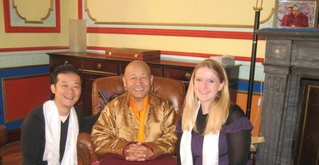 Visite de Lama Yéshé Losal Rinpotché à Bruxelles en septembre 2008 Lama_l10