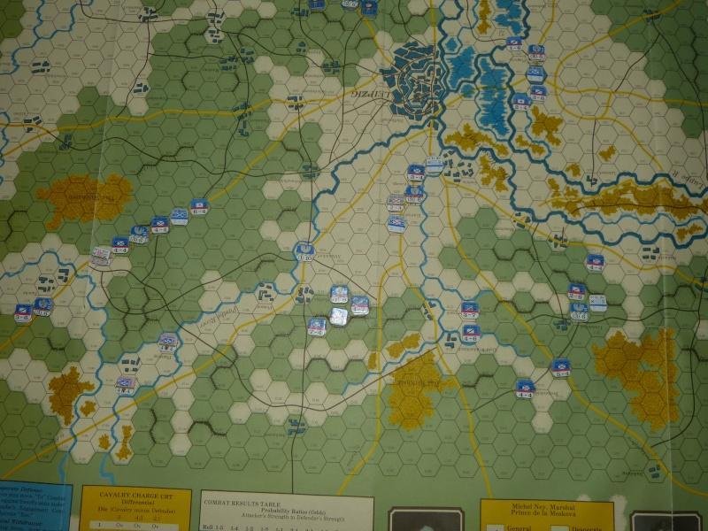 Napoléon at Leipzig - Clash of arms - CR de bataille Aile_n10