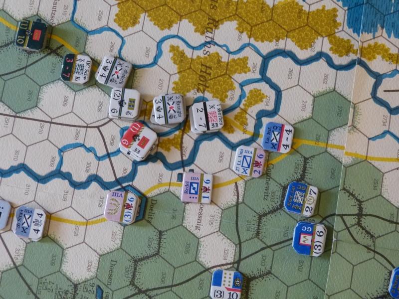 Napoléon at Leipzig - Clash of arms - CR de bataille Attaqu10