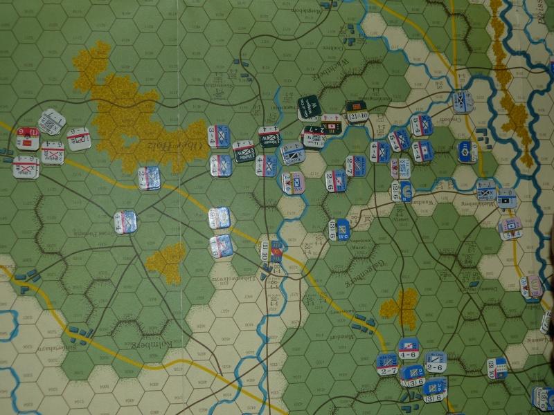 Napoléon at Leipzig - Clash of arms - CR de bataille Contre10