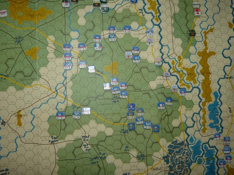 Napoléon at Leipzig - Clash of arms - CR de bataille Dispo_10