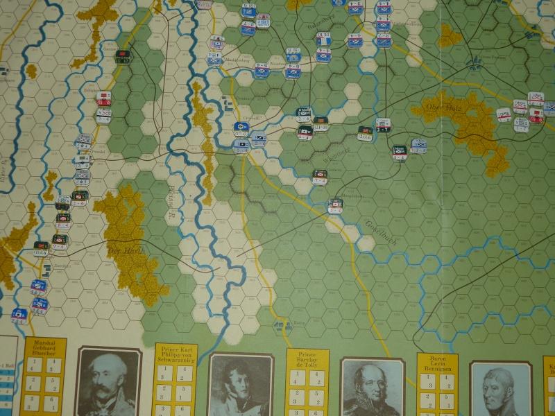 Napoléon at Leipzig - Clash of arms - CR de bataille Dispos12