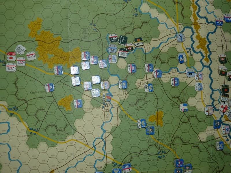 Napoléon at Leipzig - Clash of arms - CR de bataille Le_fro10
