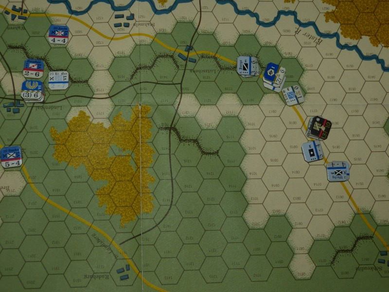 Napoléon at Leipzig - Clash of arms - CR de bataille Les_pr10