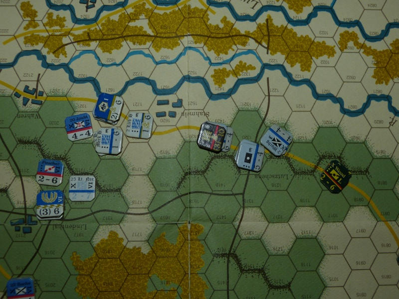 Napoléon at Leipzig - Clash of arms - CR de bataille Les_pr11