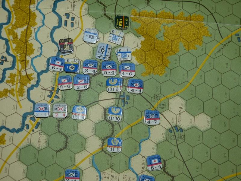 Napoléon at Leipzig - Clash of arms - CR de bataille Les_pr12