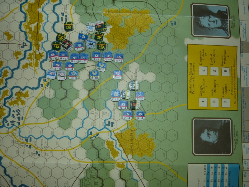 Napoléon at Leipzig - Clash of arms - CR de bataille Les_pr13