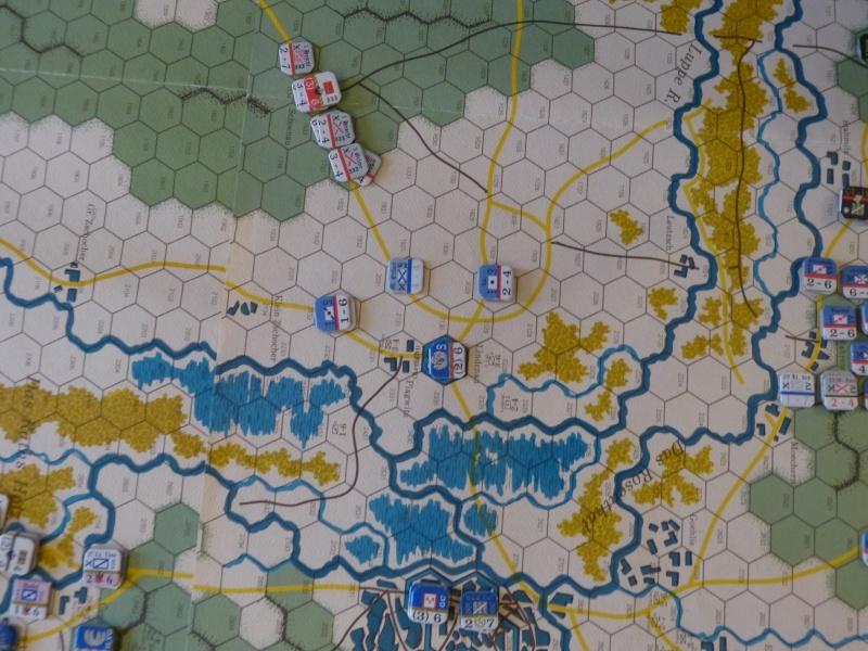 Napoléon at Leipzig - Clash of arms - CR de bataille Menace10