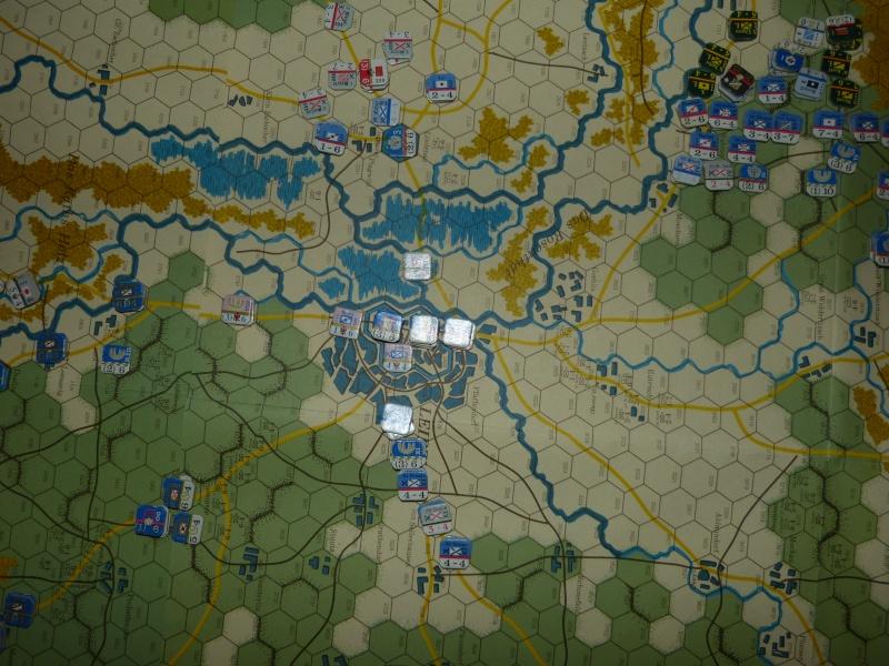 Napoléon at Leipzig - Clash of arms - CR de bataille Menace11