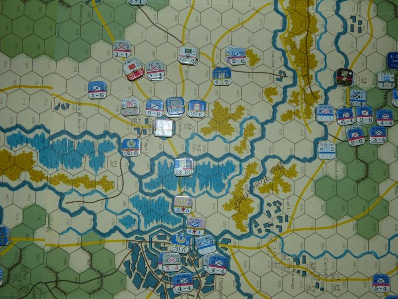 Napoléon at Leipzig - Clash of arms - CR de bataille Menace12