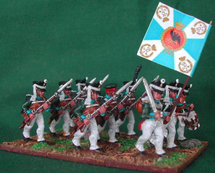 Russes 1812 en 28mm Rgimen10