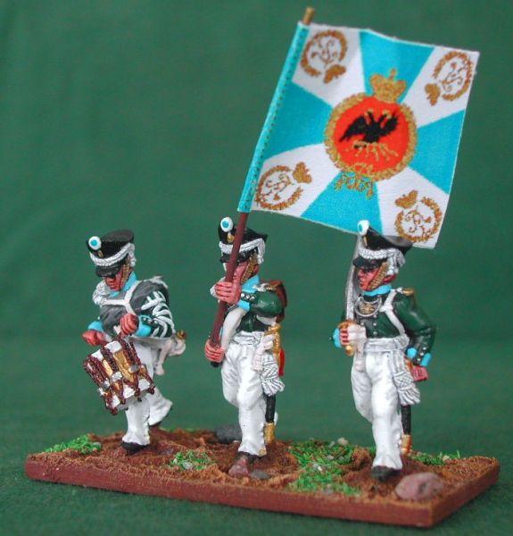 Russes 1812 en 28mm Rgimen12