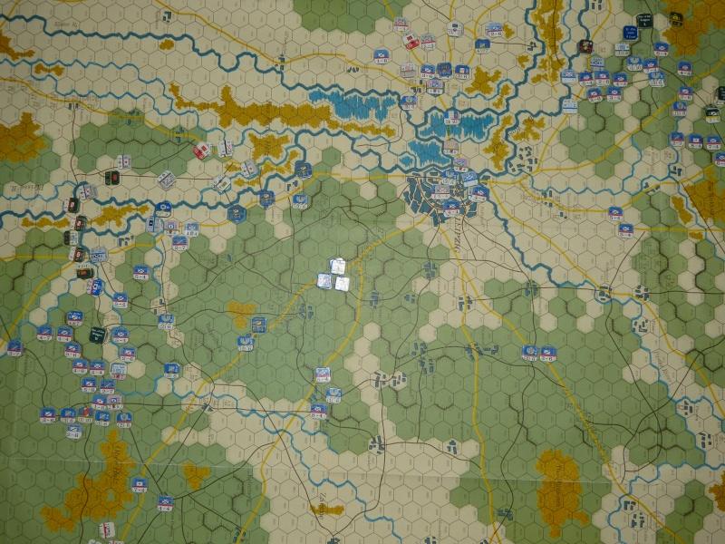 Napoléon at Leipzig - Clash of arms - CR de bataille Situat10