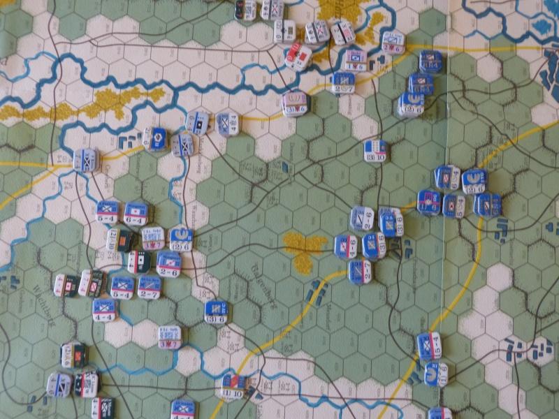 Napoléon at Leipzig - Clash of arms - CR de bataille Wittge10
