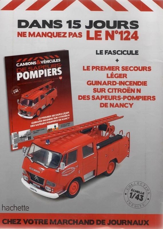 """2011 - Hachette Collections > """"Camions et véhicules de Sapeurs Pompiers au 1/43"""" >> 2014 - Page 2 65179610"""