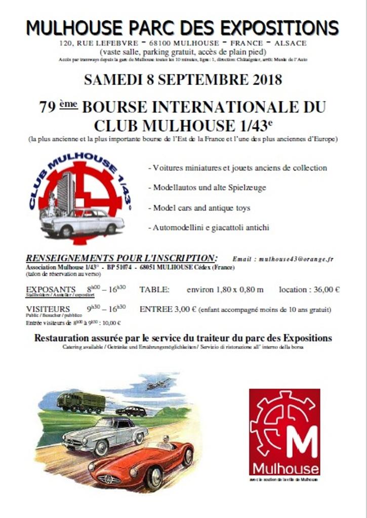 Bourse de MULHOUSE ( 68 ) Affich11