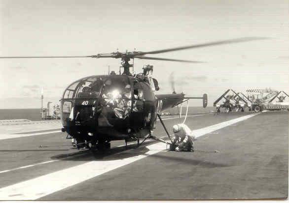 [Aéronavale divers] Alouette 3 Alouet11