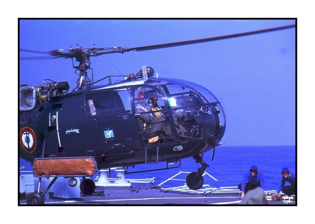 [Aéronavale divers] Alouette 3 19790310