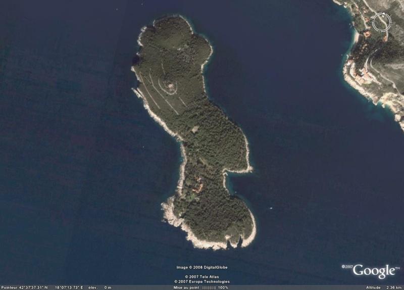 Ïle de Lokrum, Mer Adriatique Ile_de10