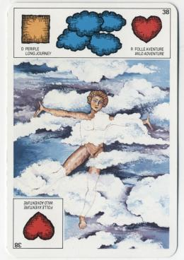 Les Cartes 31 - 38 - 39 - 40 / LA STATUAIRE GRECQUE Oracle16