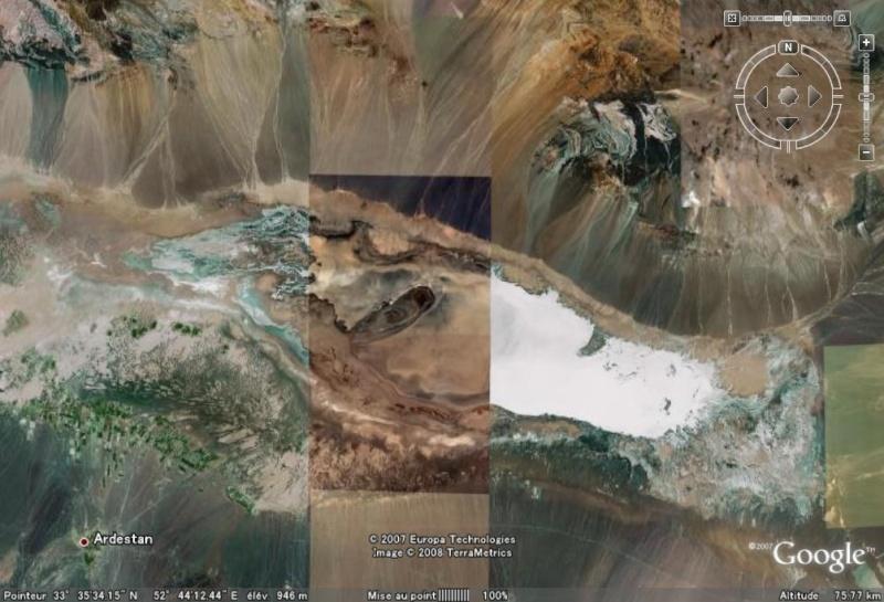 Formation étrange, Amirabad-e Zavareh - Iran [C'est quoi ?] Amirab11