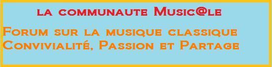 La communauté music@le