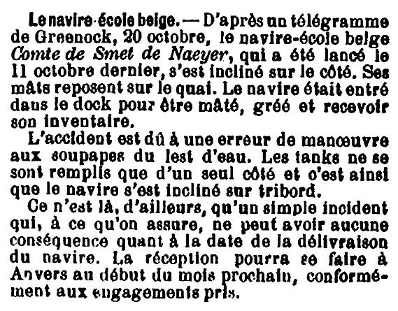 Histoire des navires-écoles de l'Association Maritime Belge - Page 2 1904_124