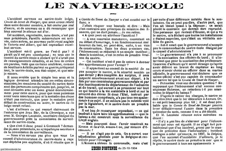 Histoire des navires-écoles de l'Association Maritime Belge - Page 2 1904_126