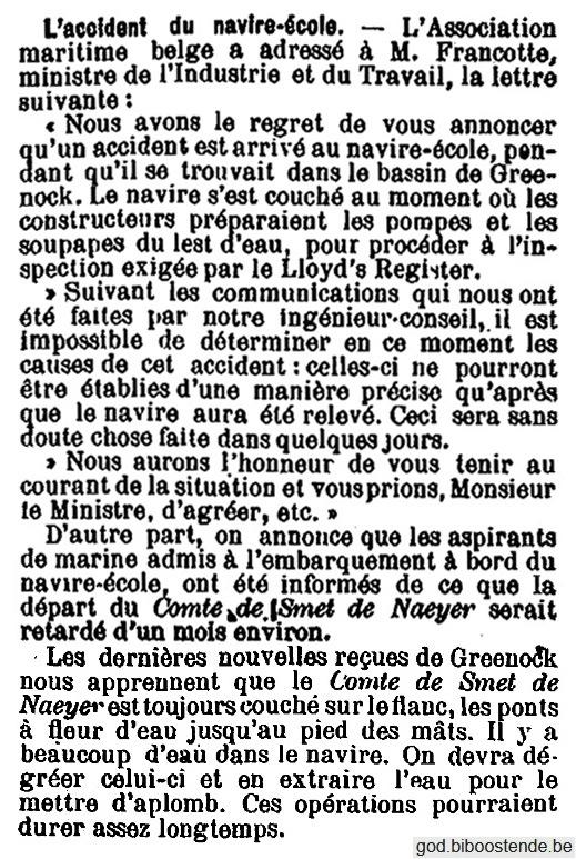 Histoire des navires-écoles de l'Association Maritime Belge - Page 2 1904_129