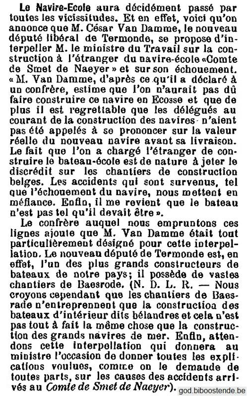 Histoire des navires-écoles de l'Association Maritime Belge - Page 2 1904_134